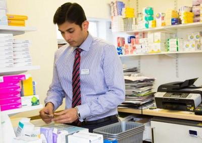 dispensing prescriptions